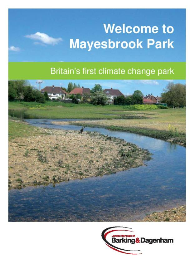 Click the image to open the pdf leaflet on Mayesbrook Park